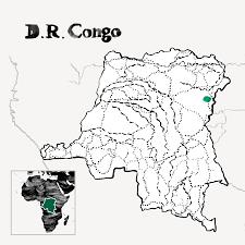 Starbucks Map D R Congo Kawa Kabuya
