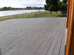 recycled mixed plastic footpath planks reinforced 170 x 40 trade