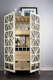 Bar Hutch P U003ehappy Hour Gets An Upgrade Thanks To The Elegant Bar Cabinet U003c P