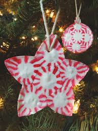 famed peppermint ornament handmade ornaments handmade