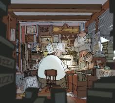pixar office pixar ratatouille earlydays robertkondo robertkondo u2022
