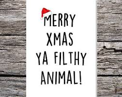 rude christmas cards etsy