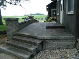 patio ideas with pavers paver patio u2013 leading edge landscapes