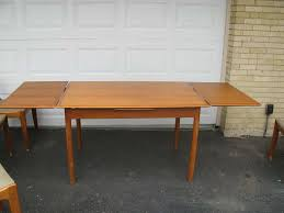 teak dining table chairs and place for teak dining