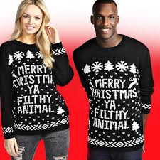 christmas hers boohoo on his n hers crimbo jumpers are you