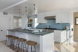 Coastal Cottage Kitchen - beach cottage exterior beach style with french white oak floor