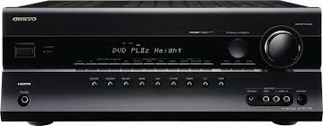 budget home theater receiver amazon com onkyo ht rc160 7 2 channel a v surround home theater