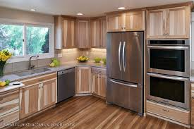 hickory cabinets kitchen corvallis kitchen remodel powell construction
