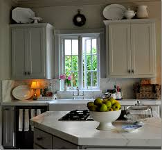 Taupe Cabinets Kitchen Appealing Taupe Kitchen Cabinets Separated By Chic White