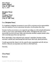 customer care representative cover letter outstanding cover