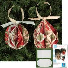 fold n stitch ornaments sewing pattern pattern and