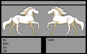 ref sheets templates on equinelineart deviantart