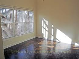 Home Decorators Collection Faux Wood Blinds How To Install Faux Wood Window Blinds Handymanhowto Com