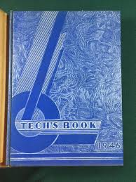 year books free hume fogg the tech s yearbooks 1944 1945 1946 nashville blue