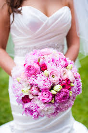 wedding wednesday shades of pink beautiful blooms
