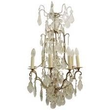 Birdcage Chandeliers French Crystal Birdcage Chandelier For Sale At 1stdibs