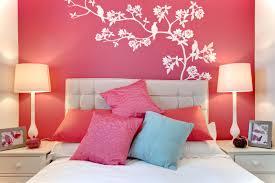 bedrooms dazzling pink bedroom design features pink wall paint
