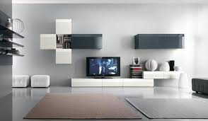 Wall Units Living Room Furniture Living Room Design White And Black Tv Wall Mount Modern Tv Wall