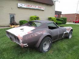 corvette project cars for sale 1970 corvette coupe 4 speed project car shell and