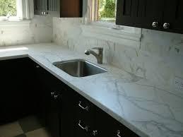 kitchen backsplash white mosaic marble tile backsplash and
