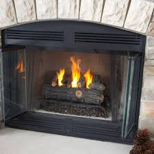 fireplace convert gas fireplace back to wood with fireplace logs