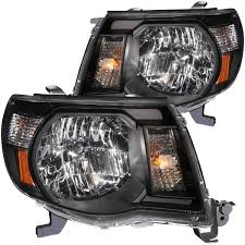 toyota tacoma amazon com toyota tacoma headlight front left driver u0026 right