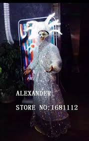 Baby Led Light Suit Halloween Costume by Online Buy Wholesale Led Dress From China Led Dress Wholesalers