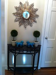Turquoise Entry Table by Entry Hall Redo Lorri Dyner Design