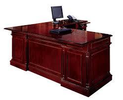 L Shaped Executive Desk Darby Home Co Prestbury L Shape Executive Desk With Center Drawer