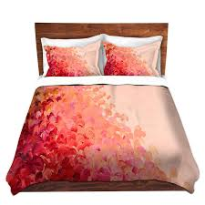 splash home decor pink ombre fine art splash waves duvet covers queen twin