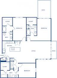 1 2 3 bedroom apartments in dallas tx camden henderson blueprint of g floor plan 3 bedrooms and 3 bathrooms at camden henderson apartments in