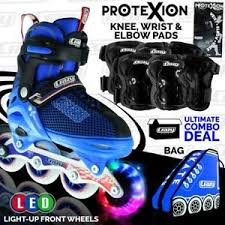 light up inline skates crazy kids inline roller skates blades blue light up wheels