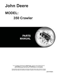 john deere 350 crawler manual the best deer 2017