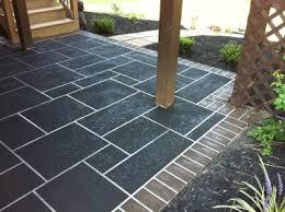 How To Resurface Concrete Patio A Concrete Overlay Makeover How I Resurface Ugly Concrete