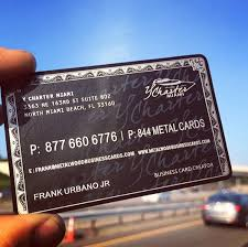 Titanium Business Cards Become A Luxury Brand As With Any Of Our Product Our