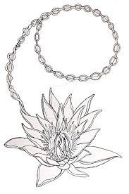 lotus chain tattoo by d o alexander on deviantart