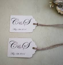 wedding tags personalised wedding favour tags by edgeinspired