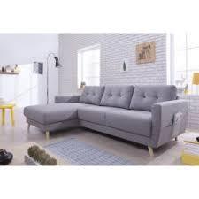canapé tissu gris clair bobochic canapé d angle gauche 4 places tissu gris clair oslo