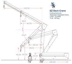 Pedestal Foundation Ez Hydraulic Cranes Nautical Structures Marine Engineering And