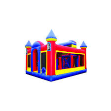 inflatable 70 u0027 backyard castle obstacle course