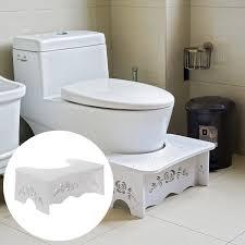 non slip bathroom squatty toilet stool footstep bathroom potty