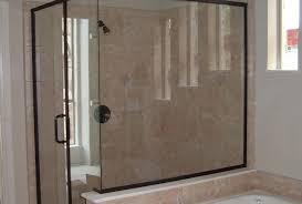 shower sliding doors awesome frameless sliding glass shower