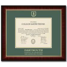 diploma frame murano diploma frame dartmouth college