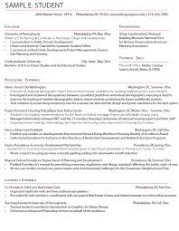 Sample Resumes For Internships by Career Services At The University Of Pennsylvania
