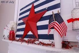 fourth of july decorations craftaholics anonymous 4th of july mantel decorations