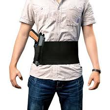belly band tactical adjustable belly band holster for concealed carry with 2