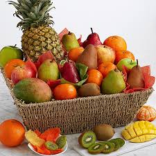 fruit arrangment signature fresh dried fruit gift basket