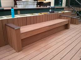 need extra seating on your deck here u0027s how to build it yourself