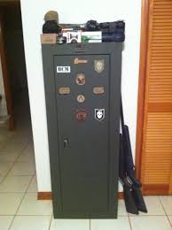 stack on 8 gun cabinet refinished a stack on gun cabinet page 1 ar15 com