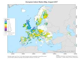 Pictures Of Maps European Atlas Of Natural Radiation